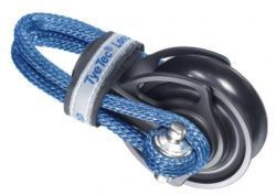 TyeTec® Loopblock 37mm , Kurzer Loop blau