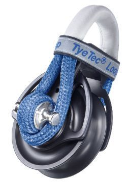 TyeTec®Loopblock 37mm ,Snatch Kurzer Loop blau