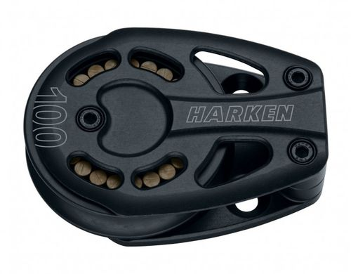 Harken 100 mm Black Magic Umlenkblock, liegend
