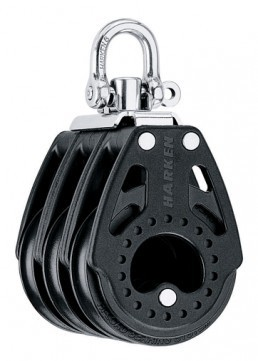 Harken 75mm Carbo Dreifach-Block