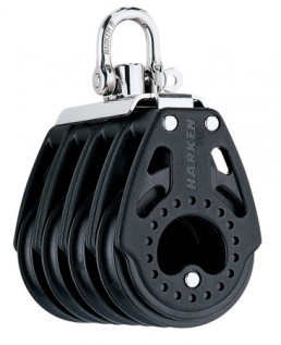 Harken 75mm Carbo Vierfach-Block