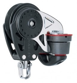 Harken 75mm Carbo Ratchamatic mit Cam-Matic